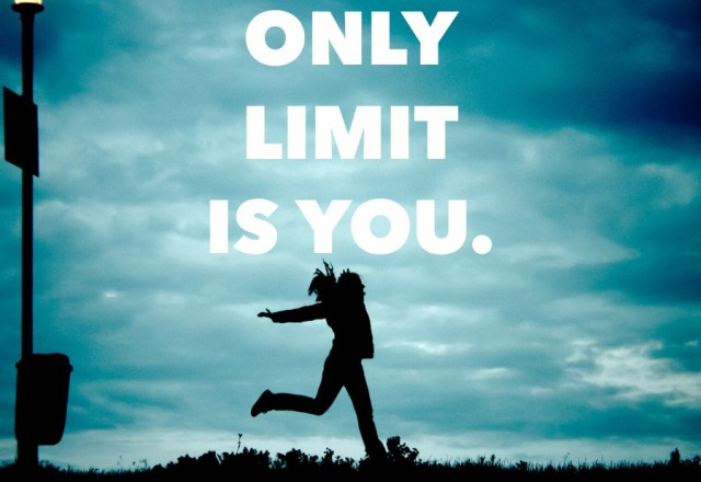 Wednesday Words of Wisdom – You Are The Limit