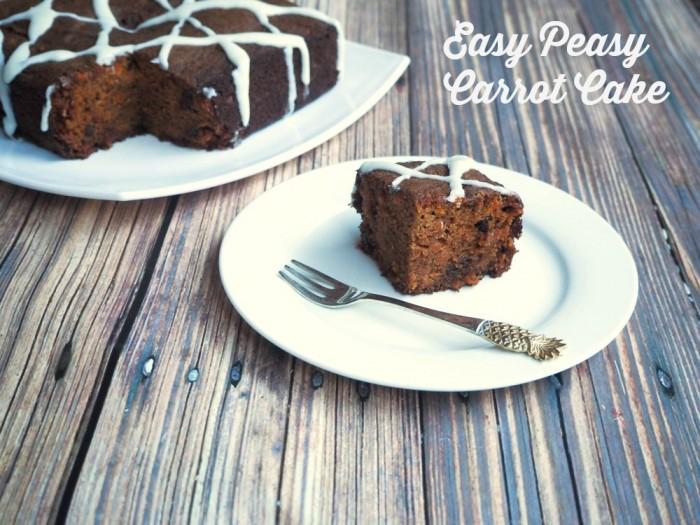 Easy Peasy Carrot Cake