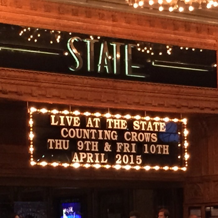 April Counting Crows