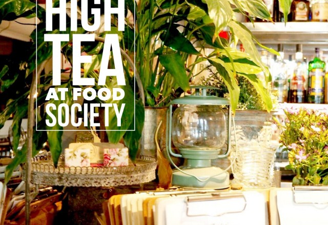 Vodka High Tea at Food Society