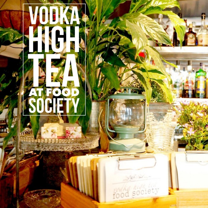 High Tea at Food Society
