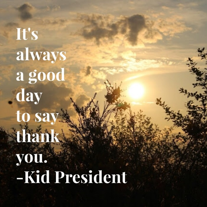 wednesday words of wisdom a good day to say thank you