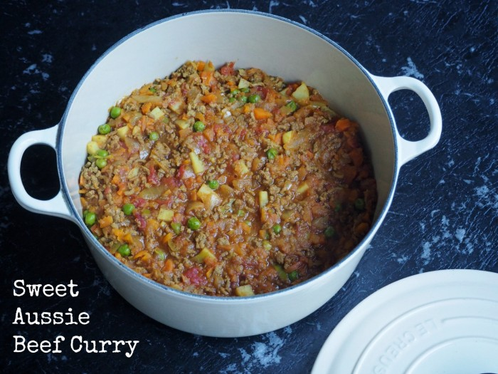 Sweet Aussie Beef Curry