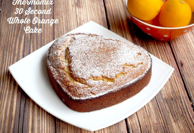 Thermomix 30 Second Whole Orange Cake