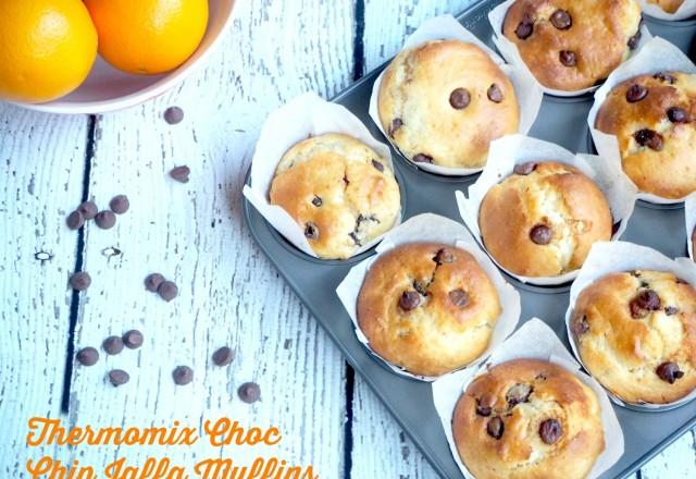 Thermomix Choc-Chip Jaffa Muffins
