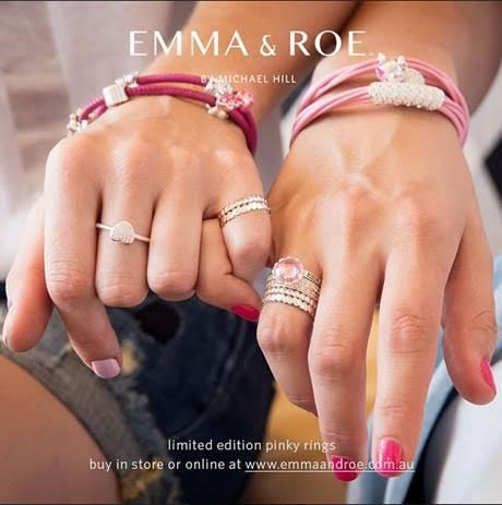 pink hope rings