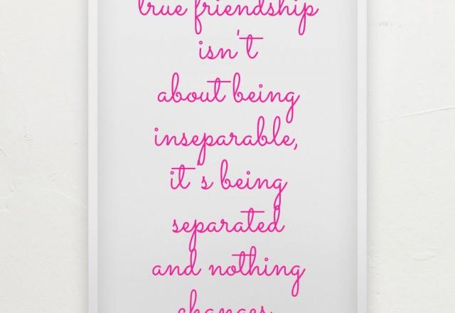 Wednesday Words of Wisdom – True Friendship
