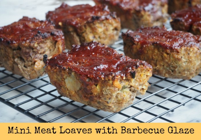 Mini Meat Loaves With Barbecue Glaze