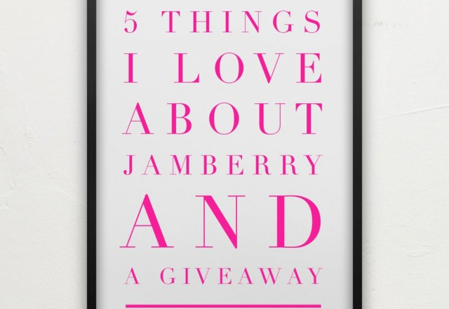 5 Things I love about Jamberry and a Giveaway