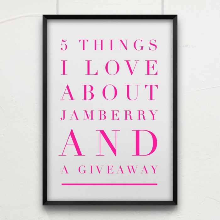 5 things I love about Jamberry