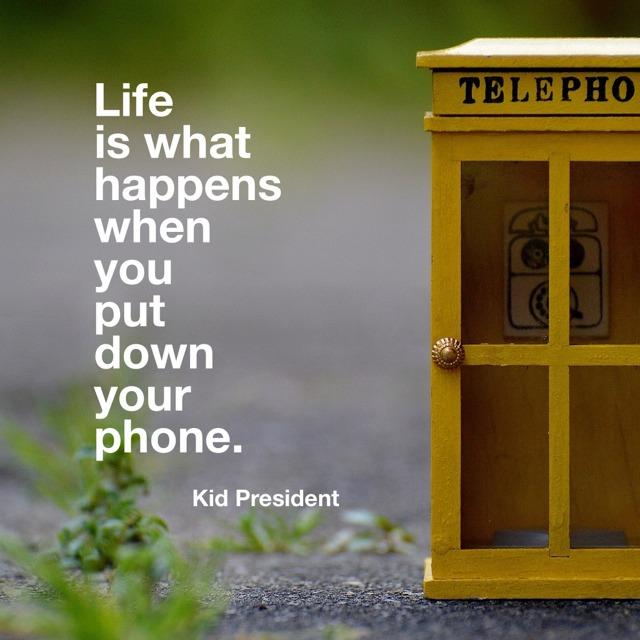 Wednesday Words of Wisdom - Kid President