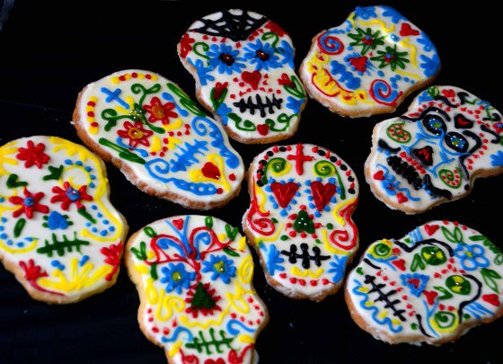 Sugar Skull Cookies - Boy Eats World