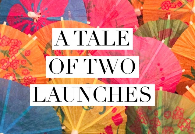 A tale of two launches