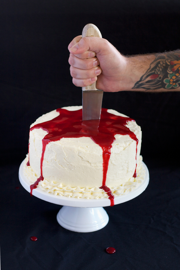 Love Swah Halloween Blood Cake