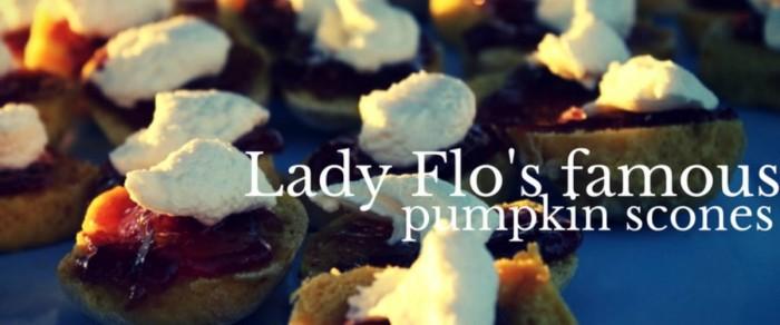 Lady Flo's Pumpkin Scones