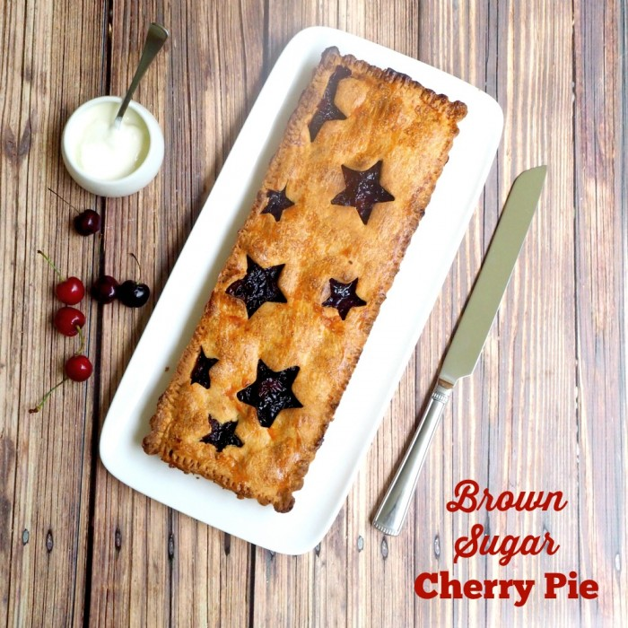 Brown Sugar Cherry Pie