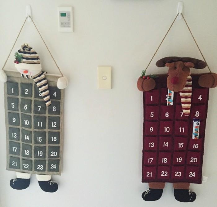 December advent calendars
