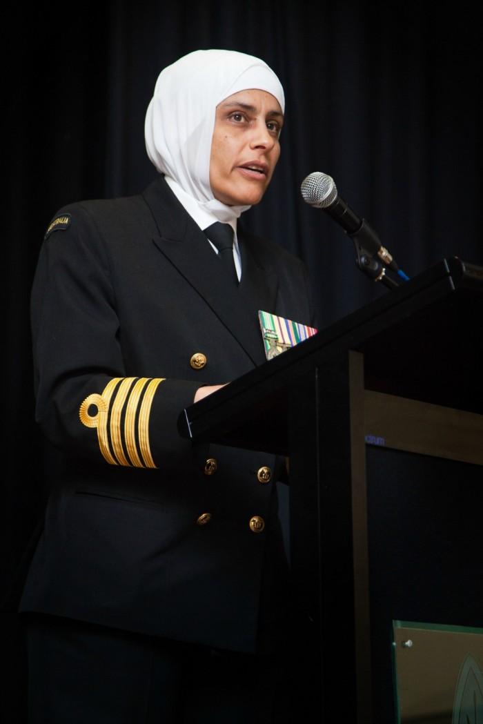 She's So Inspiring - Captain Mona Shindy