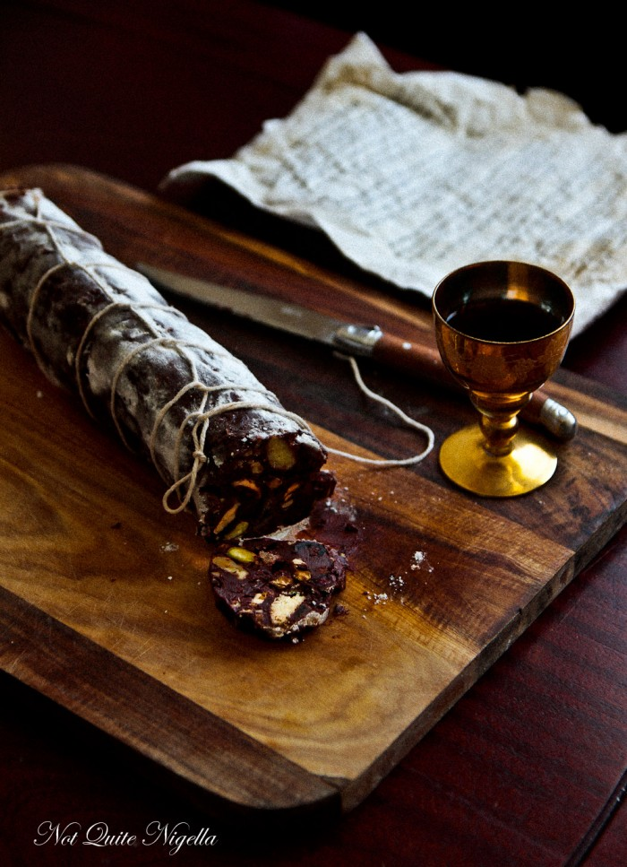 NQN Chocolate Salami