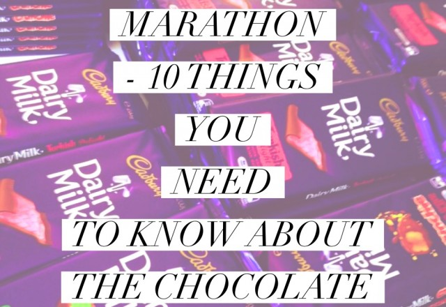 Cadbury Marathon – 10 Things You Need To Know about the Chocolate Run