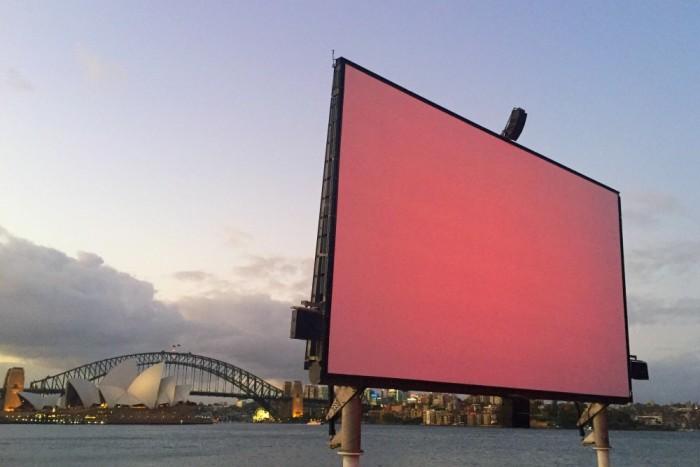 Taking stock January - outdoor cinema