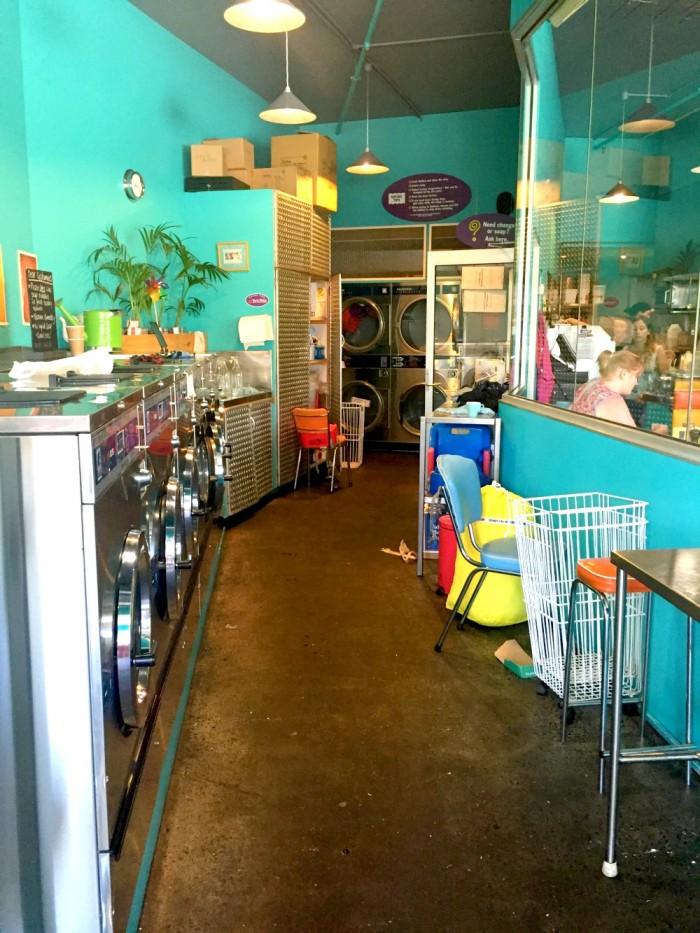 Machine Laundry Cafe, Hobart