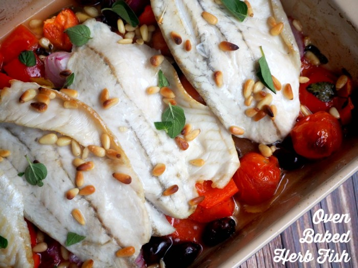 Oven Baked Herb Fish