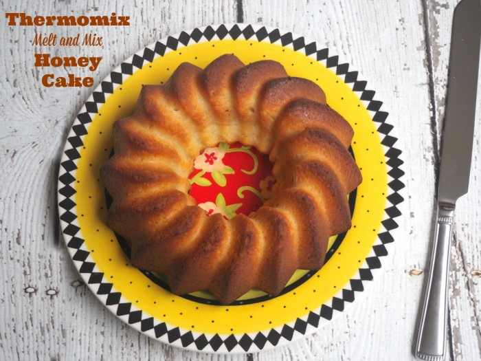 Thermomix Melt and Mix Honey Cake