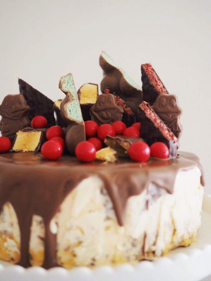 Australia Day Ice Cream Cake - Fat Mum Slim