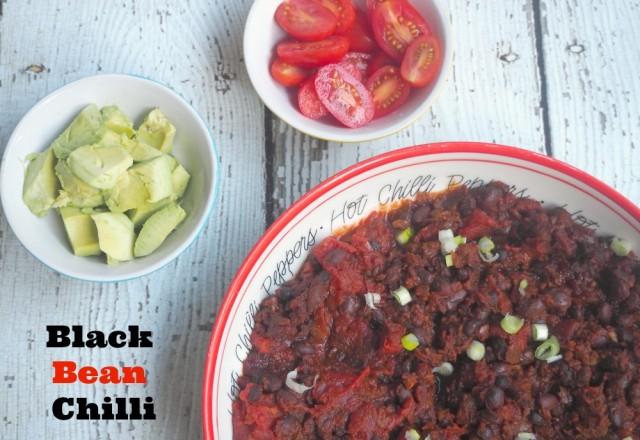 Meatless Monday – Black Bean Chilli