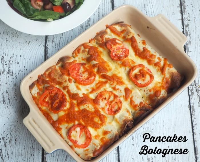 Pancakes Bolognese
