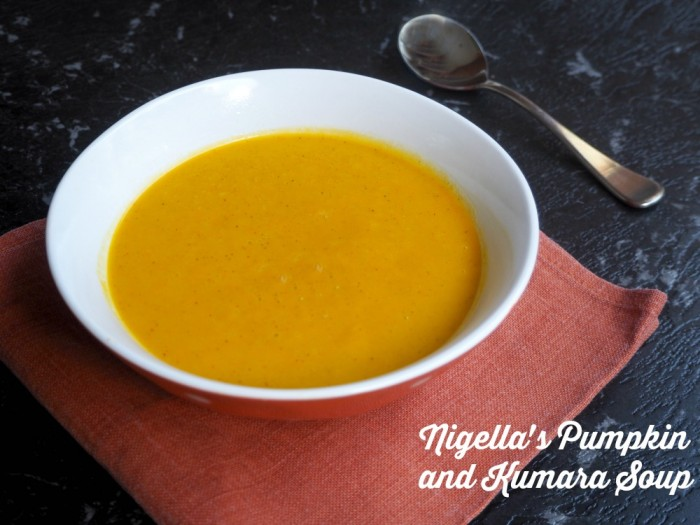 Nigella's Pumpkin and Kumara Soup