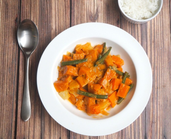 Thai Pumpkin and Pineapple Curry