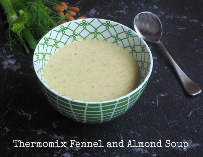 Thermomix Fennel and Almond Soup