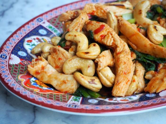 Chilli Jam Chicken and Cashews