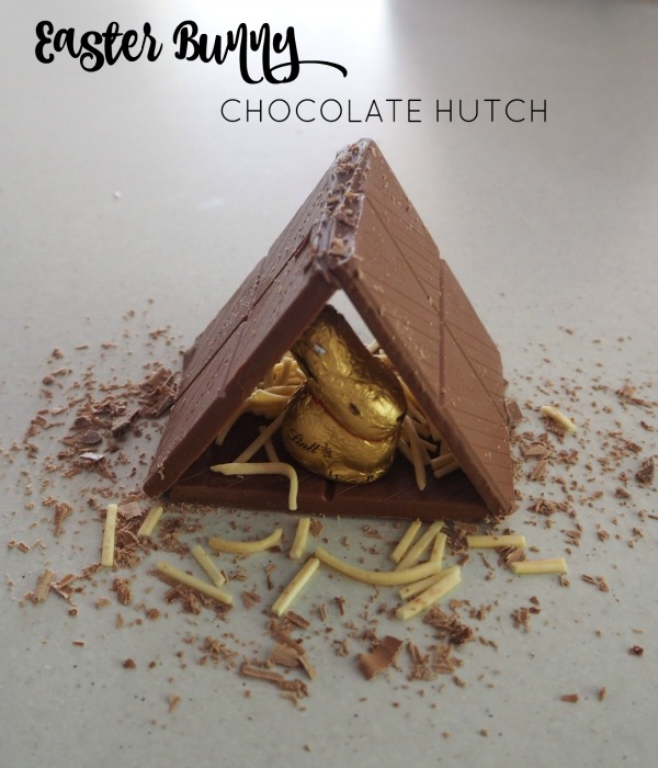 Easter-Bunny-Chocolate-Hutch- The Plumbette