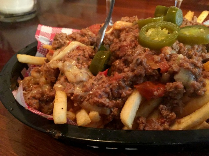 Hayberry Chilli Cheese Fries