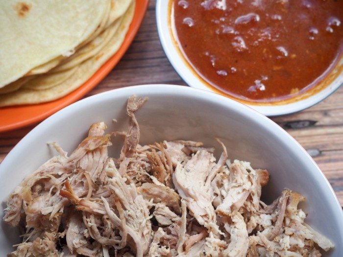 Slow Cooker Pulled Pork with Lime Slaw
