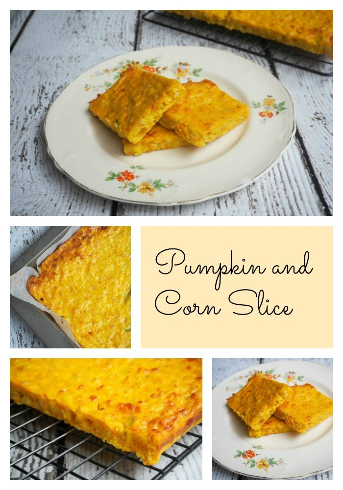 Pumpkin and Corn Slice