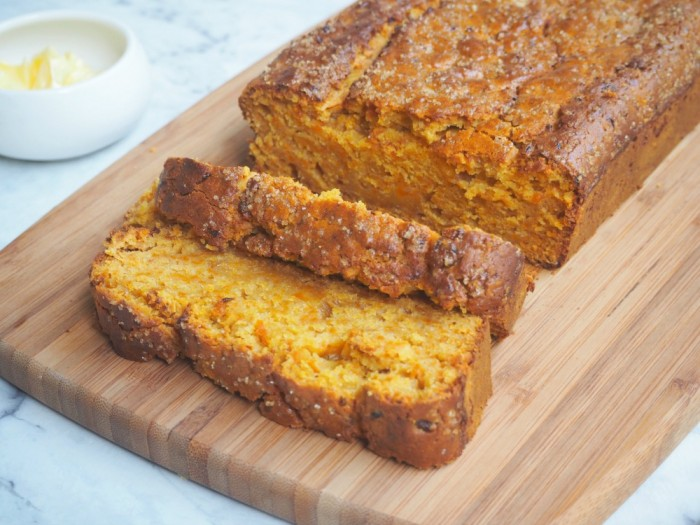 Pumpkin and Ginger Tea Bread
