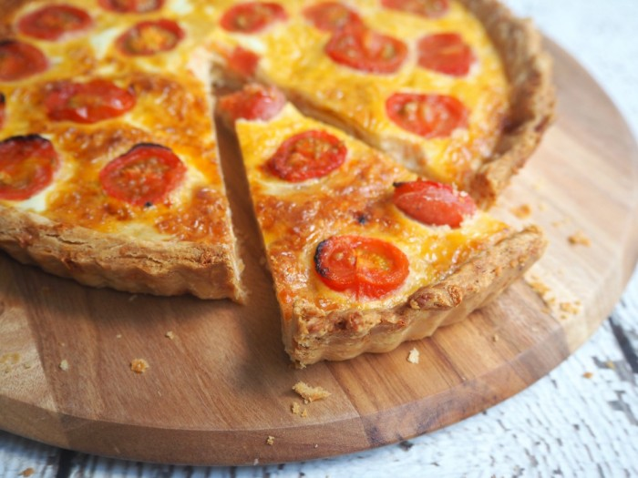Roasted Tomato and Cheese Tart