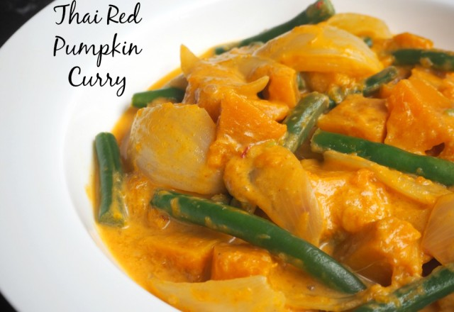Meatless Monday – Thai Red Pumpkin Curry