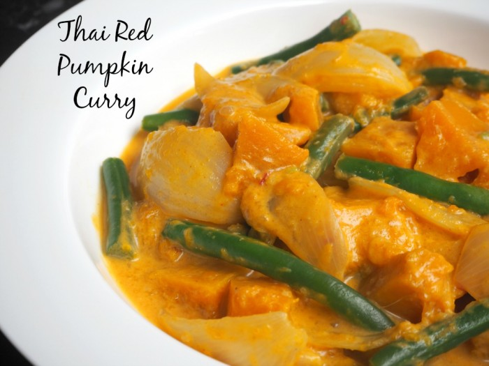 Thai Red Pumpkin Curry