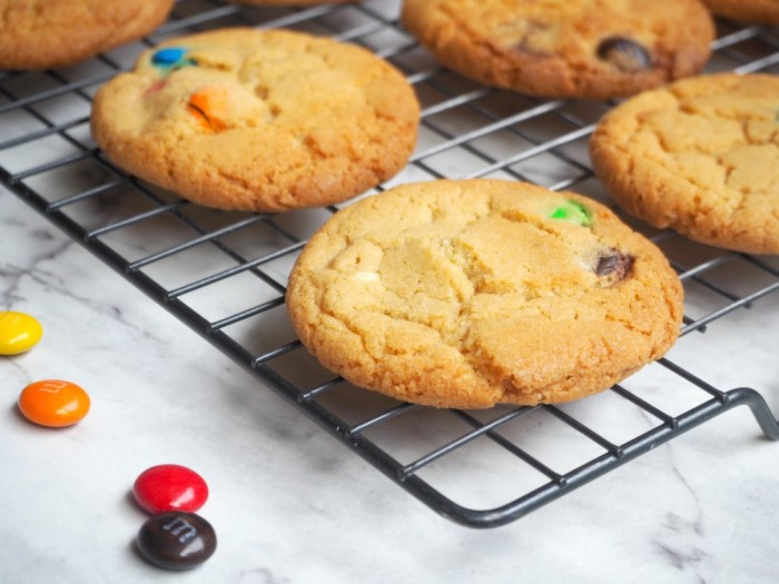 Thermomix Chewy Rainbow Cookies