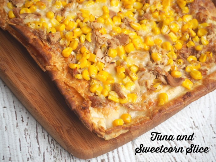 Tuna and Sweetcorn Slice