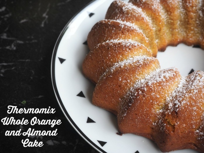 Thermomix Whole Orange and Almond Cake
