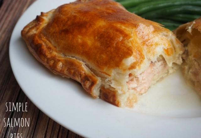 Simple Salmon Pies