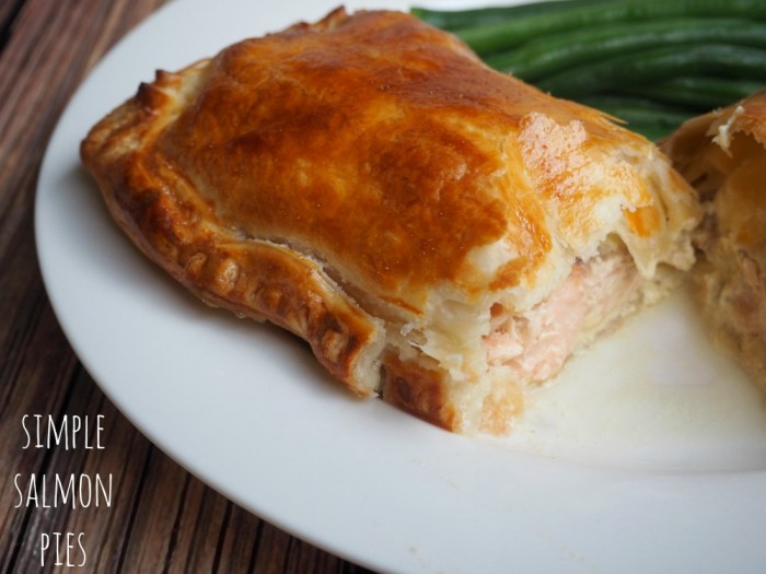 Simple Salmon Pies