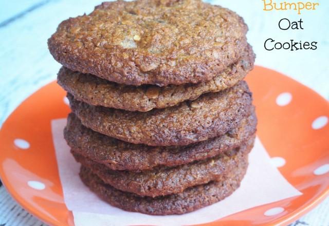 Bumper Oat Cookies