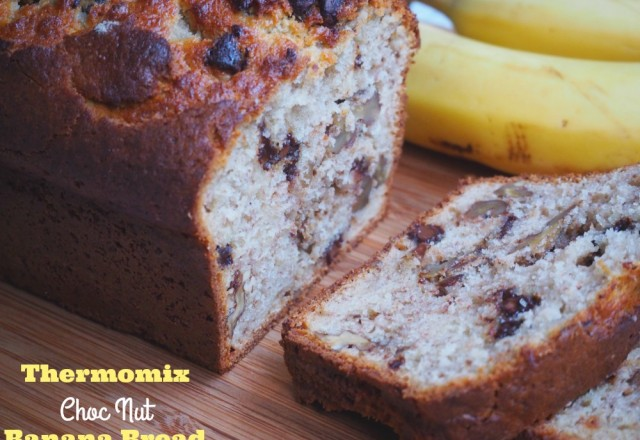 Thermomix Choc-Nut Banana Bread